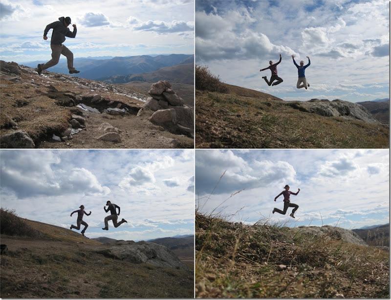 Mt Bierstadt Jump