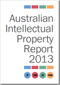 Australian Intellectual Property Report 2013