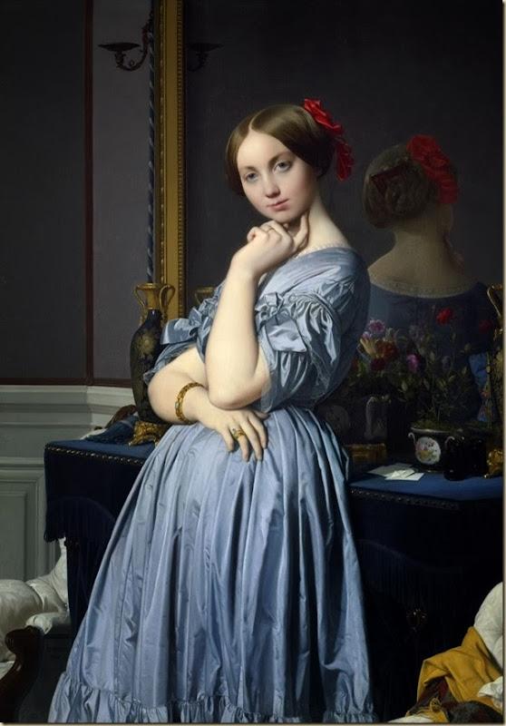 Ingres, Louise de Broglie