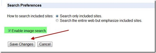enable-search-image