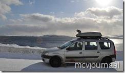 Arctic Roadtrip Erik met Dacia Logan MCV 04