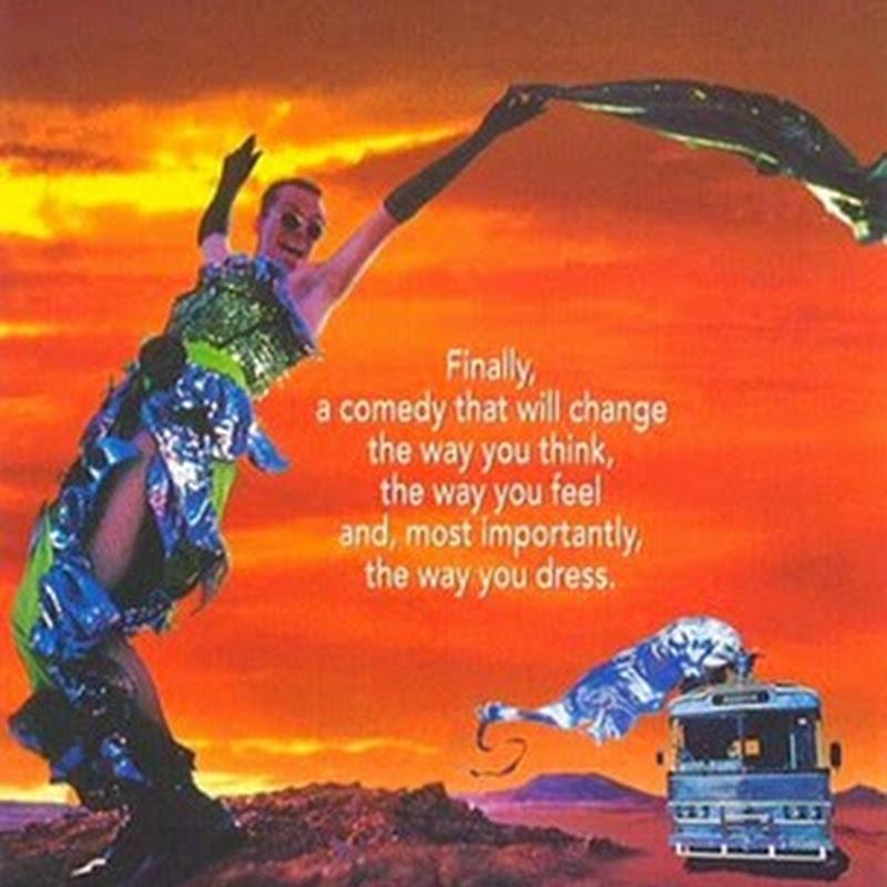 Priscilla la Regina del Deserto nella migliore tradizione del cinema kitsch.