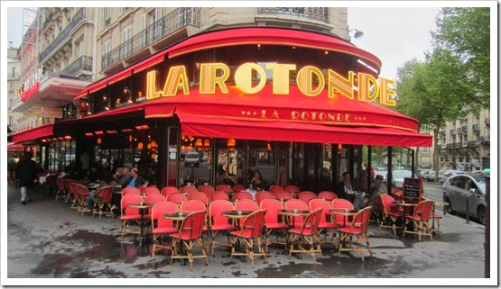 Day 6. 4. Lunch on Friday - La Rotonde 1