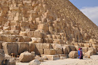 Khafre's Pyramid up close