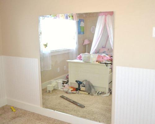 beadboard ballet mirror