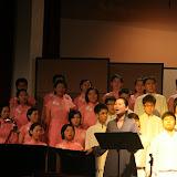 陈惠群同学指挥的演唱会