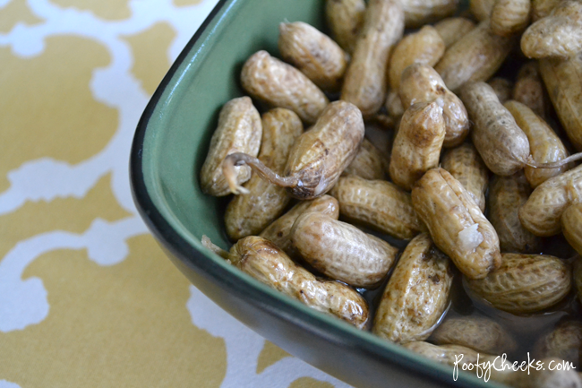 Garlic Boiled Peanut Recipe by Poofy Cheeks