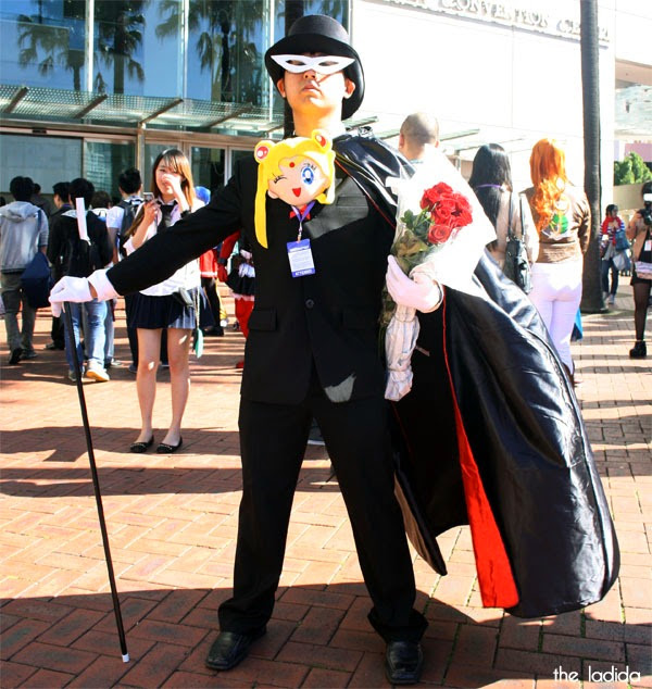 Smash! 2013 - Cosplay - Faves - Tuxedo Mask, Sailor Moon (2)