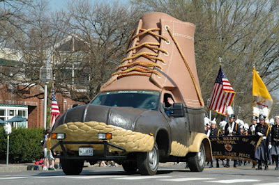 The L.L. Bean Bootmobile