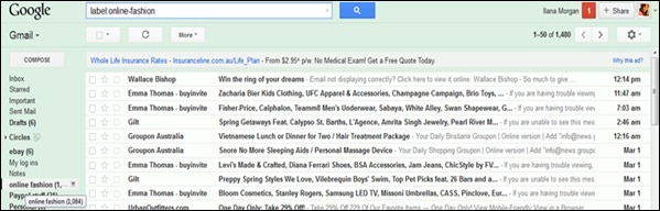 my gmail inbox flooded with advertising and mail subscriptions