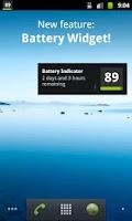 Screenshot of Battery Indicator Percentage