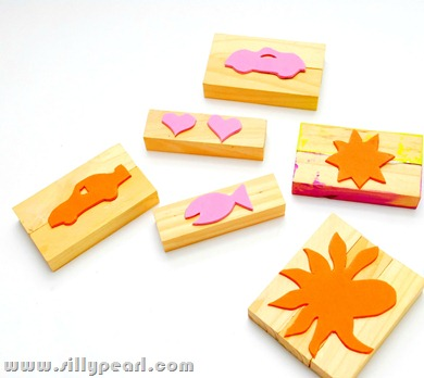 Make Foam Rubber Stamps