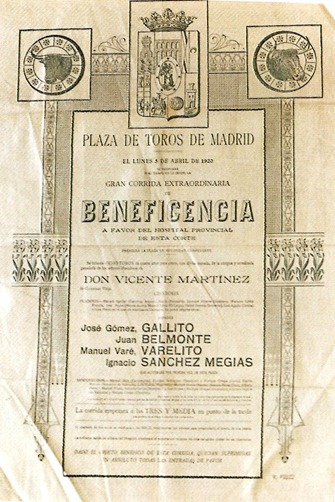 1920- Corrida Beneficencia Madrid 001