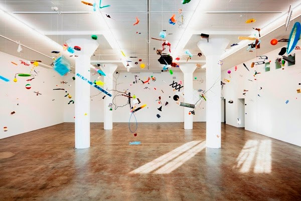 Tom Friedman, Up in the Air, 2010. Exhibition view, Magasin 3 Stockholm Konsthall, 2010.