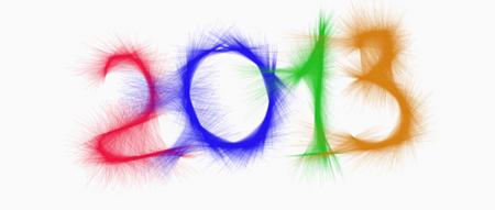 новогодние рисунки 2013