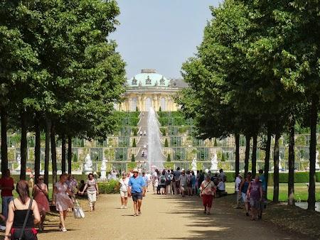 Obiective turistice Potsdam: Palatul Sanssouci