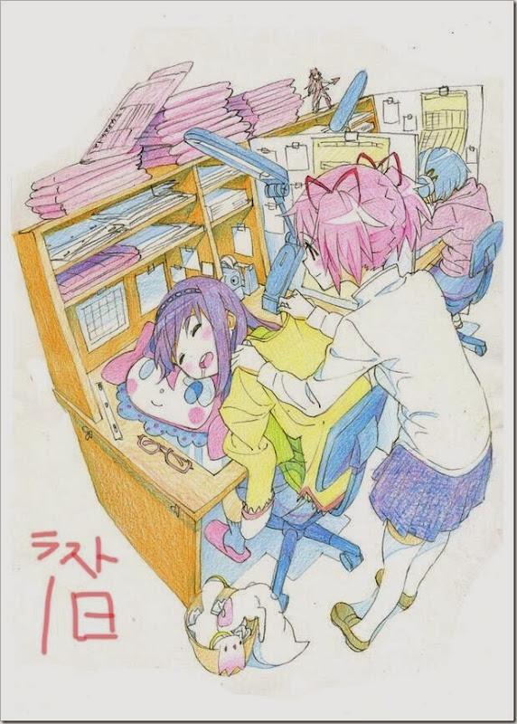 Mahou Shoujo Madoka Magica 01