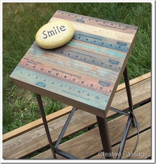yardstick stool
