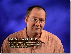 Spirited Away John Lasseter