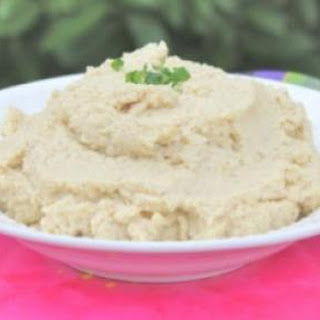 Mashed Cauliflower (Cauliflower Puree)