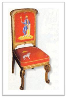 imageEl Emperador, del artista Lorenzo Olaverri y del tapicero-restaurador Francisco Alonso