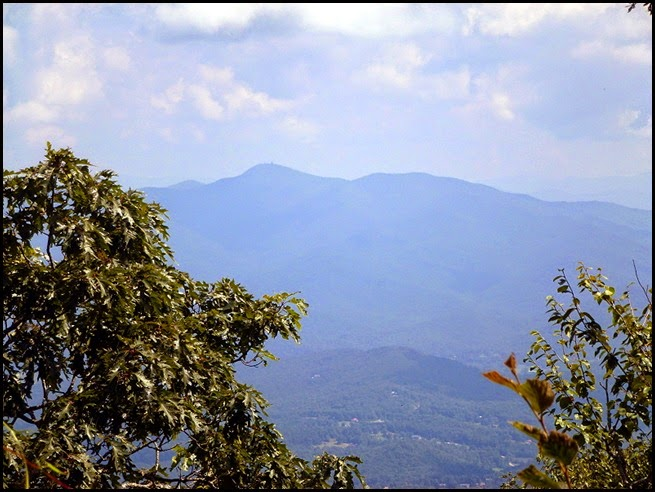 07g - Blood Mountain Summit - view to Northeast - Brasstown Bald