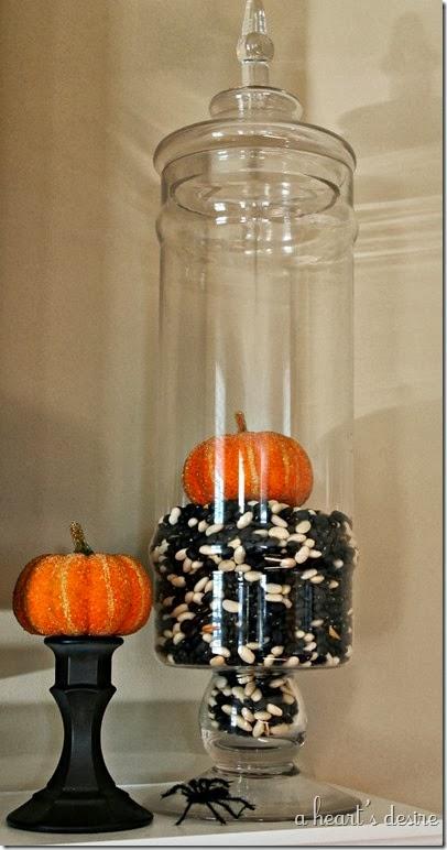 Mantel Pumpkins