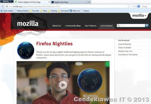 Firefox Nightly Whats New