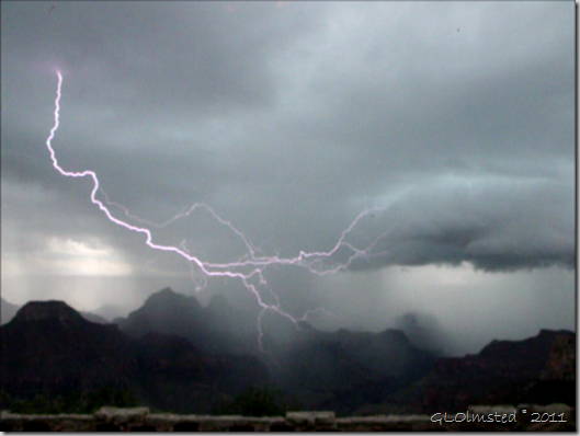 05 Lightning over canyon