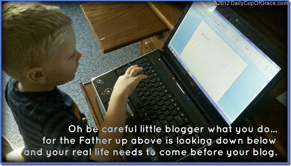 little blogger