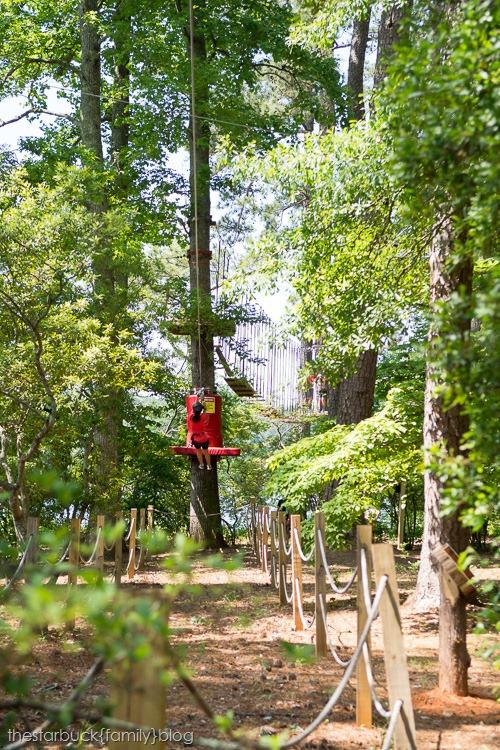 Callaway Gardens Treetop adventure blog-25