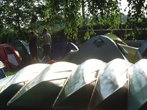 campamento dos