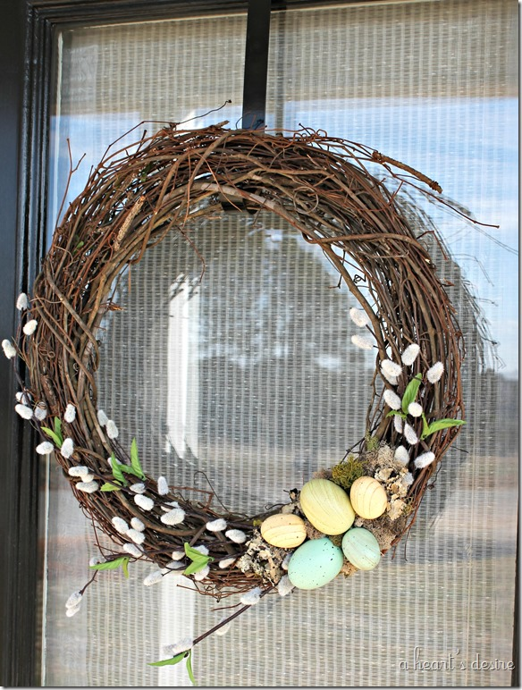 Simple Easter Wreath