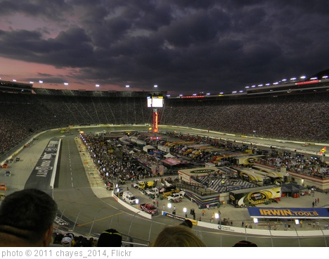 'Bristol Motor Speedway sunset (2)' photo (c) 2011, chayes_2014 - license: http://creativecommons.org/licenses/by-sa/2.0/