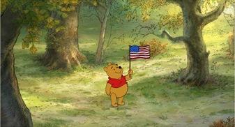 Pooh Flag