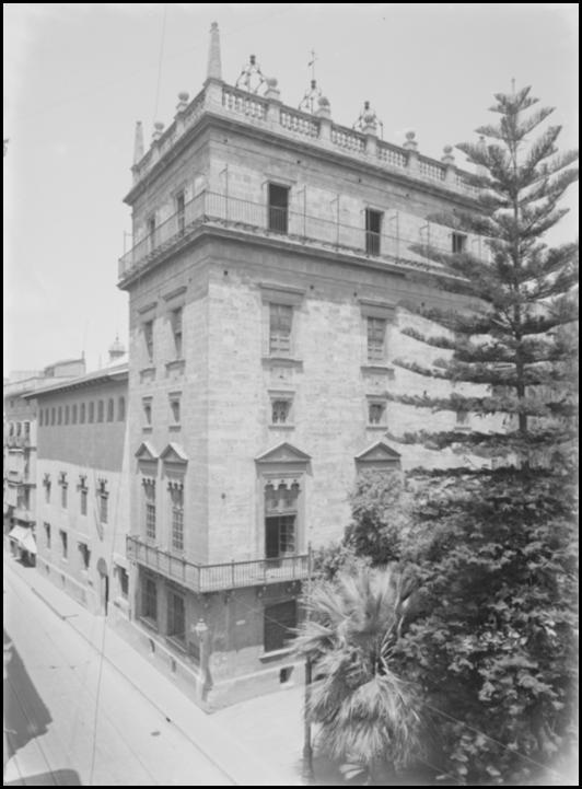 Palau de la Generalitat Ca 1935
