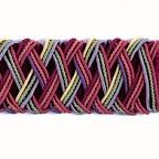 Obejma dekoracyjna typu taśma do zasłon i tkanin.