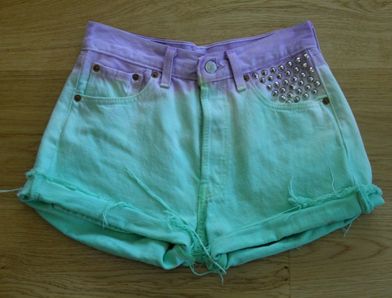 DIP DYE SHORTS 11