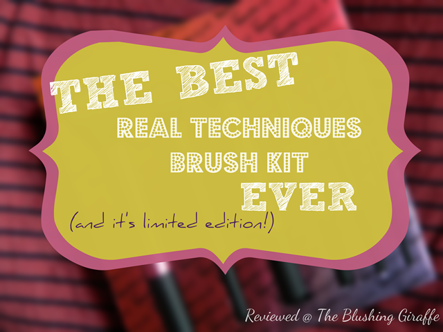 real techiniques brush kit