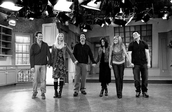 Imágenes nunca antes vistas de Friends