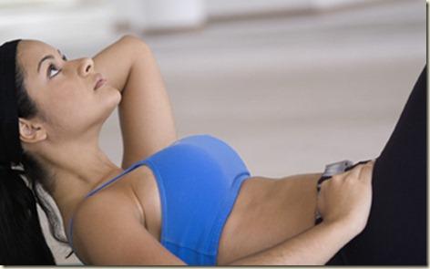 Ejercicios para abdominales femenino7