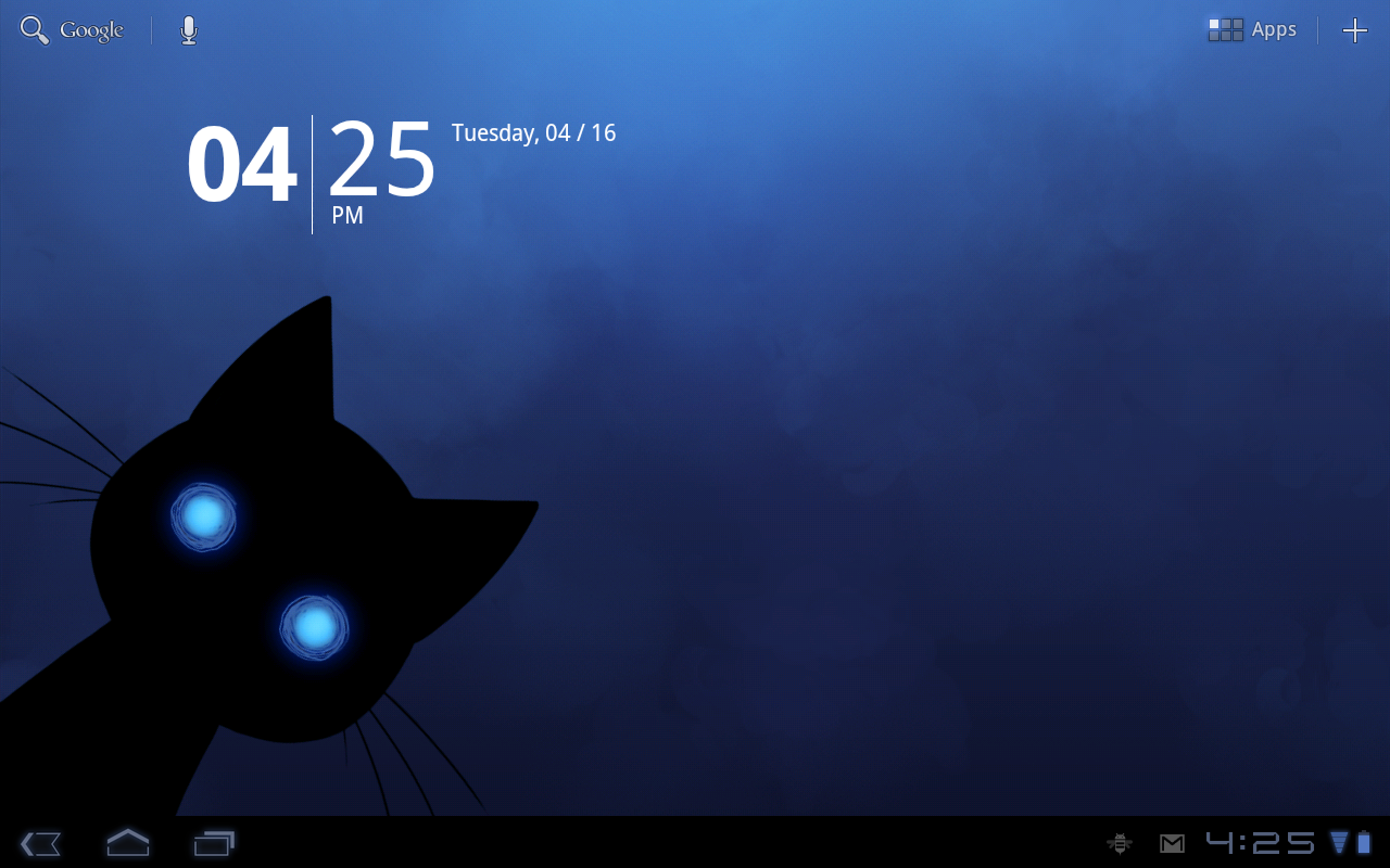 Stalker Cat Live Wallpaper Lt Screenshot 8