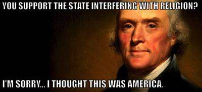 Religious freedom america
