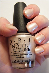 OPI Play the Peonies Swatch