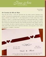 Newsletter Fina Arte 05_2011