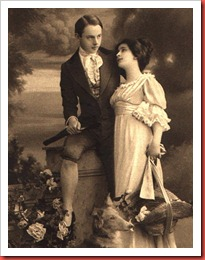 Victorian Gentleman and Lady