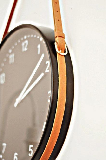 Klocka från IKEA, Pinterest via Erin Hiemsta