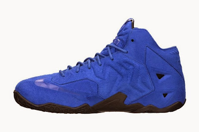 nike lebron 11 nsw sportswear ext blue suede 7 03 Release Reminder: Nike LeBron XI EXT Suede QS