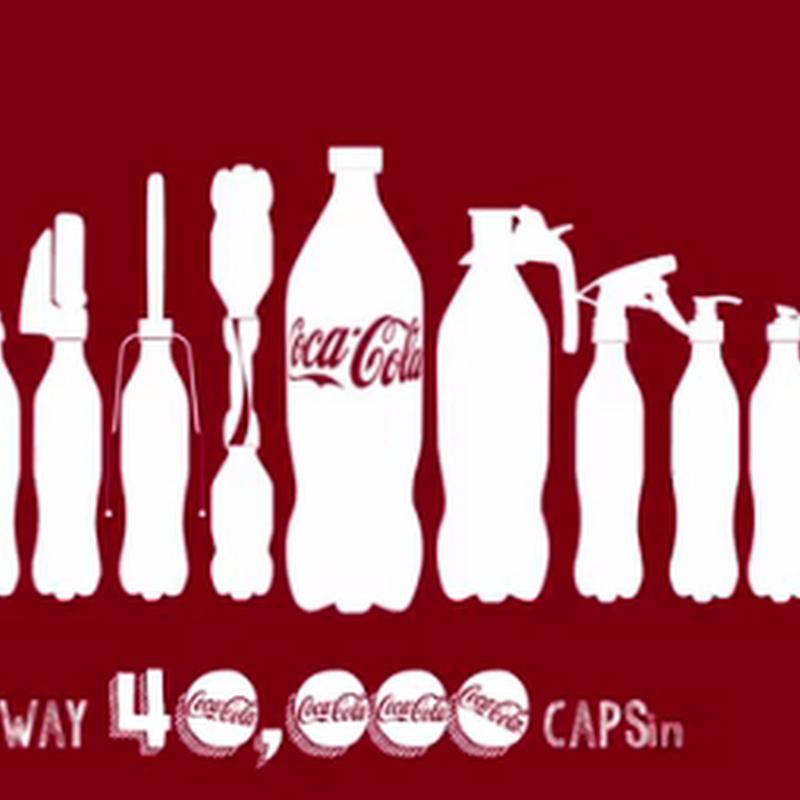 Una segunda vida a los envases de Coca Cola