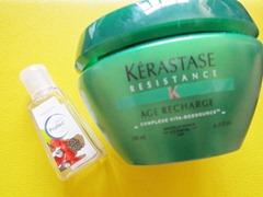 skin protec and kerastase resistance age recharge, bitsandtreats